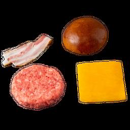 Kit Pão, Carne, Queijo E Bacon – 481 Burger De Brisket 4 Und