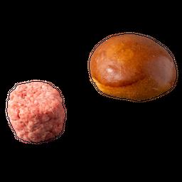 Kit Pão E Carne – 481 Burger Smash De Costela 4 Und