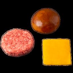 Kit Pão, Carne E Queijo – 481 Burger De Picanha 4 Und