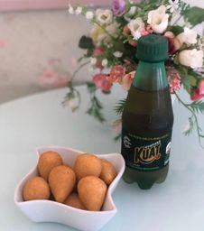 10 mini coxinhas + 1 Refri 250ml