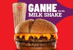 Sanduíche Clássico + Milk 300 ml