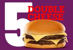 5 Double Cheese