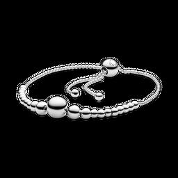 Bracelete Pandora Cordão Esferas Pandora