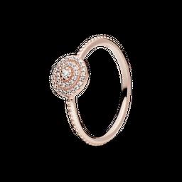 Anel Rose Elegante Pólen Da Primavera Pandora
