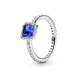 Anel Beleza Eterna Azul Pandora a598