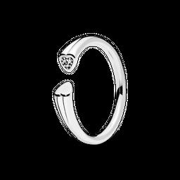 Anel Dois Corações Pandora