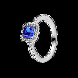 Anel Beleza Eterna Azul Pandora a599