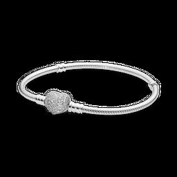 Bracelete Crie & Combine - Sempre Em Meu Coração Pandora
