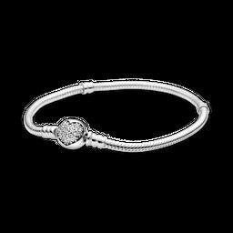 Bracelete Crie & Combine - Coração Brilhante Pandora