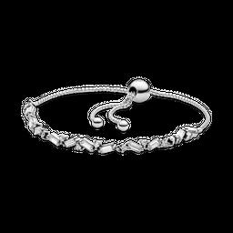 Bracelete Pandora Cordão Brilho Glacial Pandora
