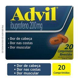 Advil 200 Mg Com Revestidos