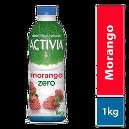 Activia Iogurte Probióticos Zero Líquido Morango