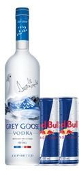 Gray Goose + Red Bull