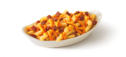 Batata c/cheddar e bacon
