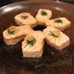 Sashimi de Salmão ao Maçarico