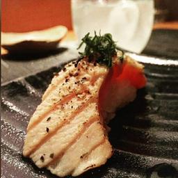 Sushi de Salmão ao Maçarico