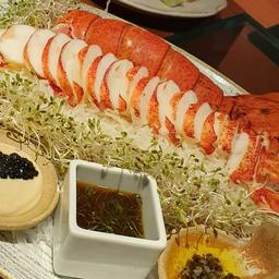 Sashimi de Lagosta