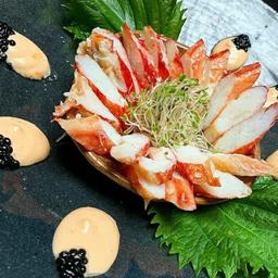 Sashimi de Centolla
