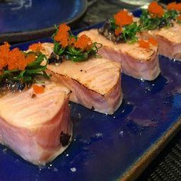 Sashimi de Salmão Trufado