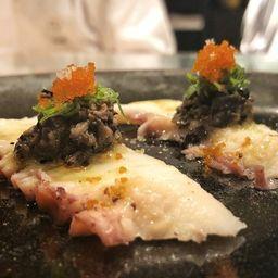 Sashimi de Polvo Trufado