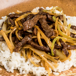 Beef Shogayaki
