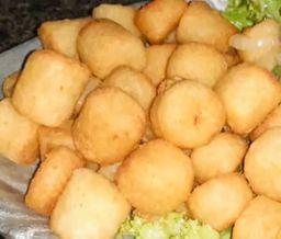 Mandioquinha Frita com Queijo