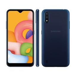 Smartphone Galaxy A01 Azul