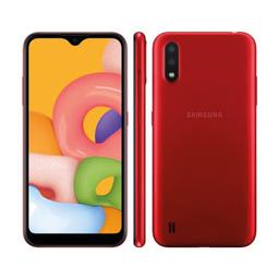 Smartphone Galaxy A01 Vermelho