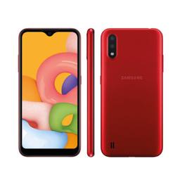 Smartphone Galaxy A01 Core Vermelho