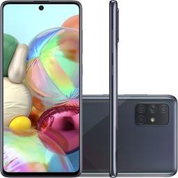 Smartphone Galaxy A71 128Gb Preto