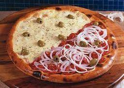 Pizza Meio a Meio - 8 Fatias