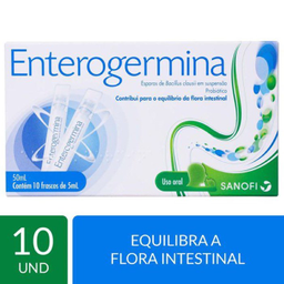 Enterogermina Probiotico Uso De 1 A 3 Vezes Ao Dia 10 Frascos