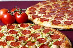 2 Pizzas Tradicionais - 8 Fatias