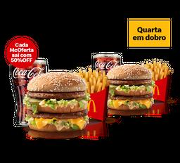 2x1 McOferta Média Big Mac
