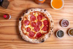 Pizza Indivudal  e Refri lata