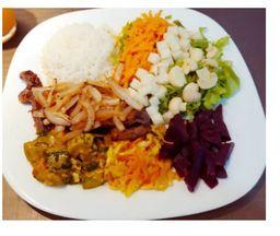 Salada 500ml (Grelhado)