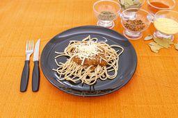 Espaguete Integral à Bolonhesa