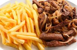 Porções Picanha com Fritas