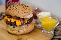 85 - Hambúrguer Gourmet Cheddar