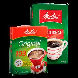 Combo Café Melitta + Filtro