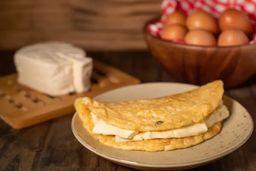 Omelete de Queijo Minas