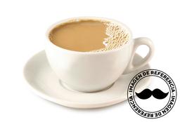 Café no Coador com Leite