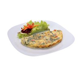 Omelete de Carne do Sol