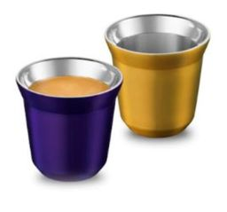 Nespresso Xícaras Pixie Espresso, Arpeggio & Volluto