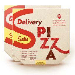 Descontão! 2 pizzas c/ desconto especial