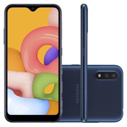 Samsung Smartphone Tcell Galaxy A01 Azul