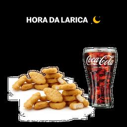 20 Chicken McNuggets + Bebida