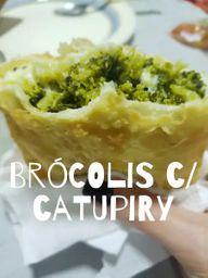 Pastel de Brócolis com Catupiry