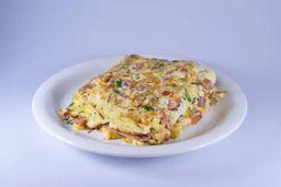 Meio Omelete Vegetariano