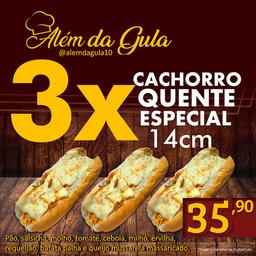 3 Hot Dog Especial